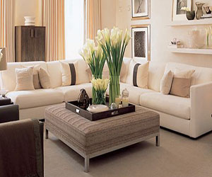 Modern Cream And Taupe Living Room You Will Love How Simple And Elegant  This Living Room Is. The Cream C. Part 92