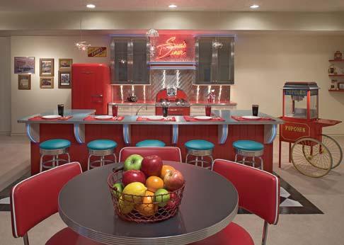 50s Diner Kitchen Room Decor And Design