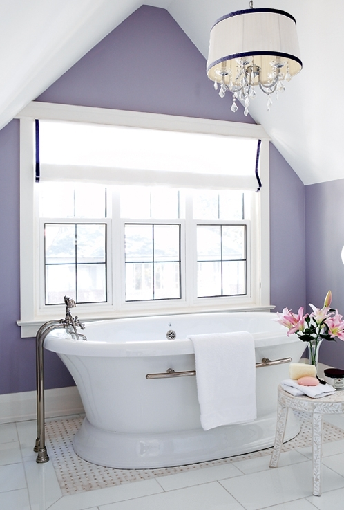 bathroom-with-vaulted-ceiling-and-purple-wall-myyroom Vaulted Ceiling Bathroom Design Color on whirlpool tub bathroom designs, basement bathroom designs, walk in closet bathroom designs, cathedral ceiling designs, hot tub bathroom designs, view bathroom designs, sunken tub bathroom designs, laundry room bathroom designs, sloped ceiling bathroom designs, soaker tub bathroom designs, latest bathroom designs, full master bathroom designs, swimming pool bathroom designs, attic bathroom designs, apartment bathroom designs, garden tub bathroom designs, jetted tub bathroom designs, townhouse bathroom designs, tile floor bathroom designs,