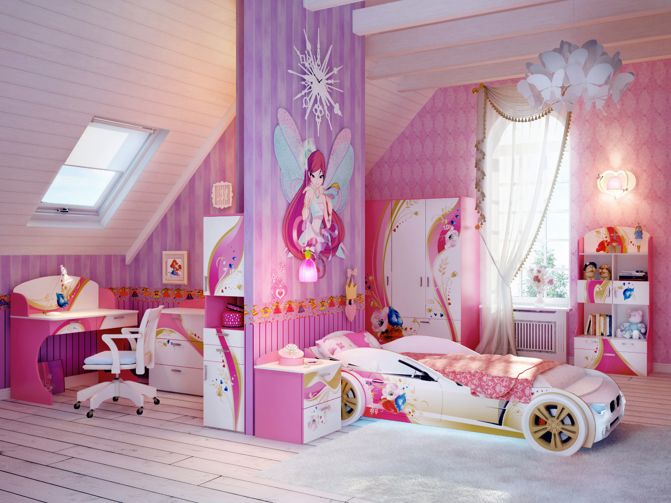 Race Car Room Decor Girl Bedroom With Race Car Bed Room Decor And Design