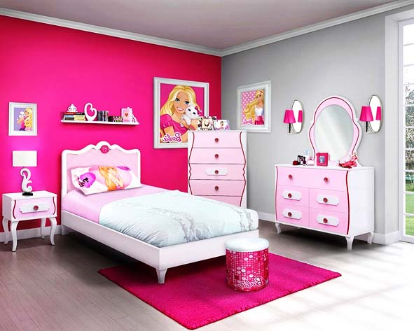 Prev  More Room Decor. Pink Barbie Room   Room Decor and Design