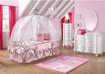 Pink Princess Bedroom - Room Decor and Design