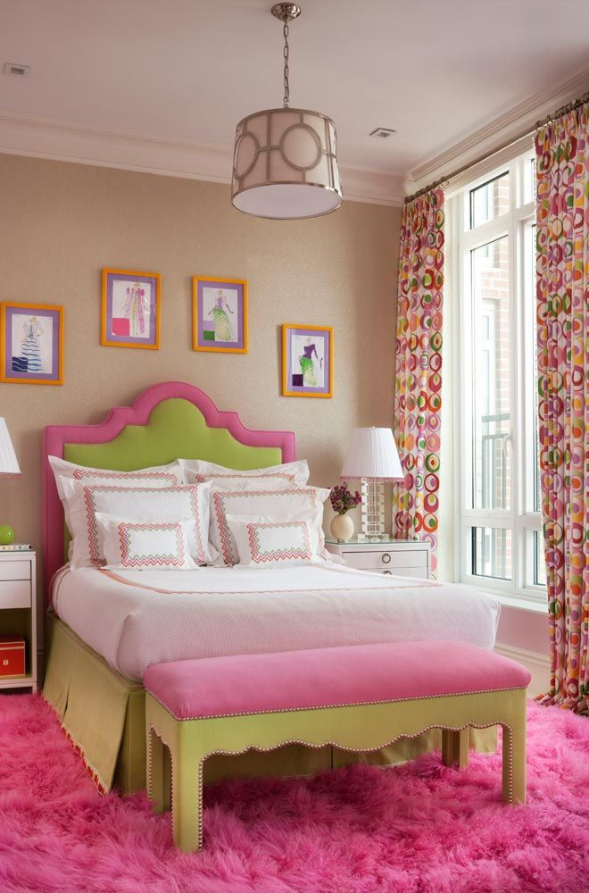 Pink And Green S Bedrooms Bedroom Design Ideas