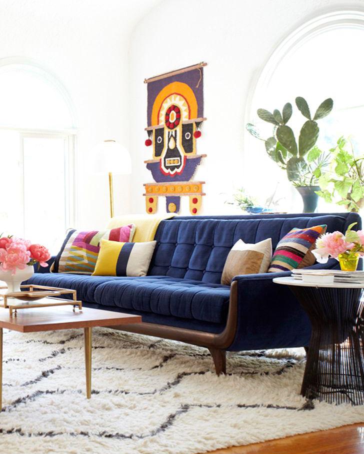 Native American Inspired Living Room